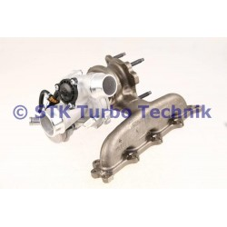 Opel Astra J 1.6 SIDI 860497 Turbo - 819554-5008S - 819554-5005S - 819554-5004S - 819554-5001S - 819554-0008 - 819554-0005 - 819
