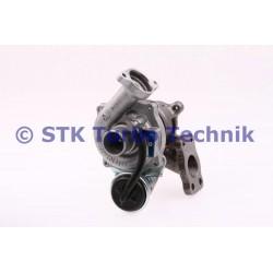 Peugeot 206 1.4 HDi 0375G9 Turbo - 5435 988 0009 - 5435 988 0007 - 5435 988 0001 - 0375G9 - 0375K0 BorgWarner